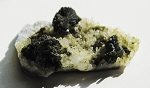 Epidote in Quartz Matrix #031412