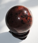 Mahogany Obsidian Polished Sphere #012715