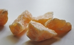 Orange Calcite Natural Crystal #251513