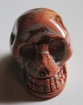 Picture Jasper Polished Skull #090813