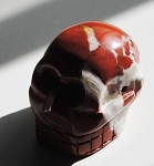 Red Jasper Skull Carving #2123115