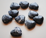 Sodalite Carved Polished Heart #022315