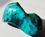 Chrysocolla with Malachite Polished Stone #011816*