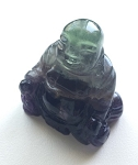 Fluorite Crystal Buddha Carving #072416 sold