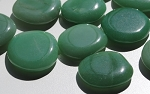 Green Aventurine Quartz Crystal Polished Worry Stones #031716