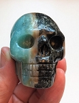Picture Jasper Polished Skull #052318