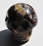 Picture Jasper Polished Skull #031716