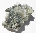 Prehnite with Epidote Natural Crystal Cluster #052716