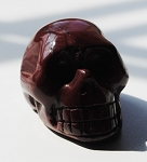 Red Jasper Skull Carving #031916