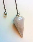 Rose Quartz Crystal Pendulum #061418