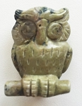 Serpentine Owl Carving #051916