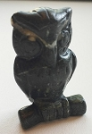 Serpentine Owl Carving #251916