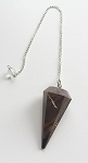 Tiger's Eye Faceted Pendulum #050716