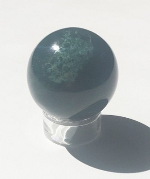 Bloodstone Polished Sphere #102816