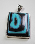 Synthetic Calisilica Pendant #11127