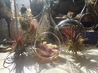 Crystal intention gardens