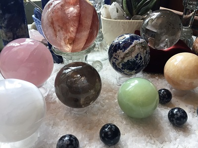 Crystal Balls and Spheres