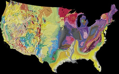 Geologic Map of USA