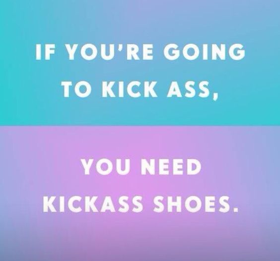 Kick Ass Shoes