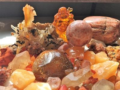 Orange Crystals | Raven Crystals