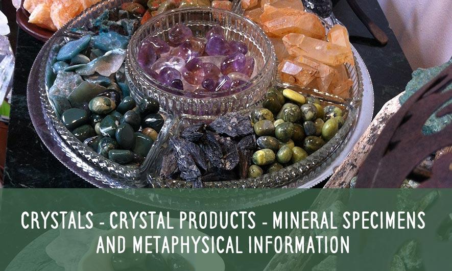 Healing Crystals, Healing Stones | Raven Crystals