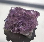 Natural Amethyst Crystal Cluster from Brazil #032718
