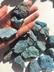 Blue Apatite Rough Crystal #21220