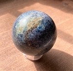 Blue Kyanite Polished Sphere