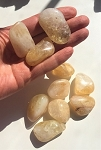 Citrine Quartz Tumbled Stones #21220