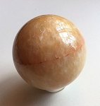 Honey Calcite Polished Sphere #051617