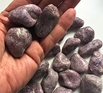 Lepidolite with Mica Tumbled Stones #122119