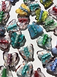 Lucite Butterfly Totem Bead #021717