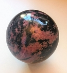 Rhodonite Polished Sphere #042318