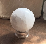 Selenite Crystal Sphere #100320
