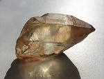 Natural Smoky Citrine Quartz Crystal Point #032418