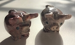 Soapstone Pig Totem Carving #011719