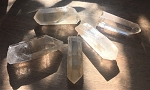 Tangerine Quartz Crystal Points #110920