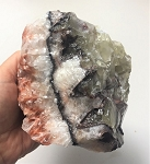 Natural banded calcite crystal #060619
