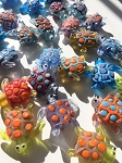 Lucite Turtle Totem Beads