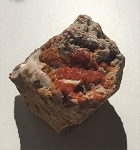 Vanadinite Natural Mineral #101918