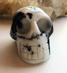 Zebra Rock Skull Carving #041617