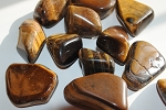 Tiger's Eye Tumbled Stones