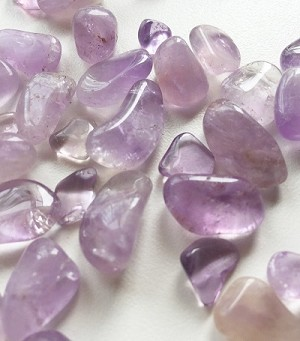 Smaller sized Amethyst tumbled stones from Bolivia ...