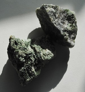 Green Diopside Natural Crystal #122813