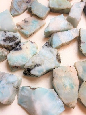 Larimar Natural Crystals #050818