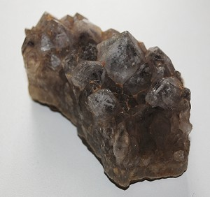 Natural Smoky Quartz Crystal Cluster on Matrix #090512